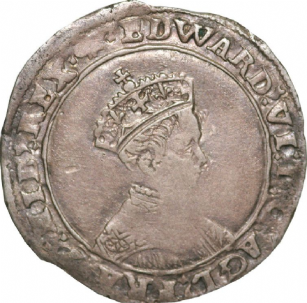 Edward VI Shilling 1547-1553 Portrait Type